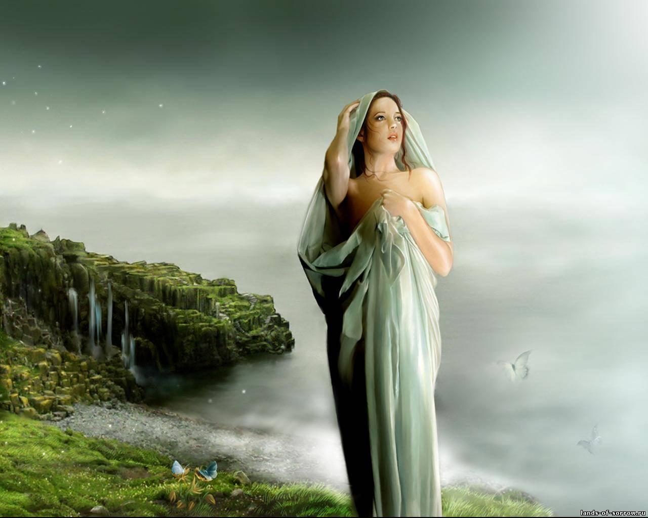 Девушка неземной красоты стих